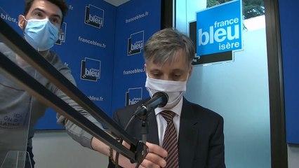 """Lionel Beffre, préfet de l'Isère """"l'évolution n'est pas bonne"""""""