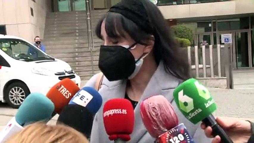 Beatriz Rico llora al recordar a Quique San Francisco