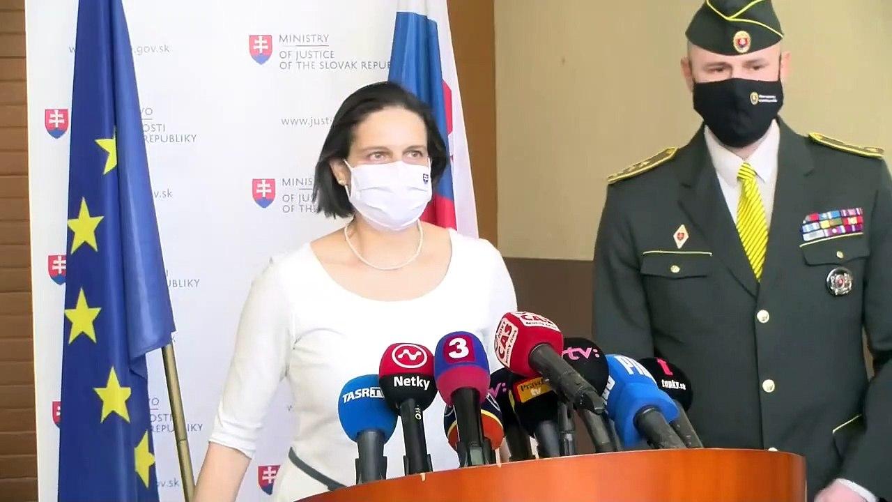 ZÁZNAM:Ministerka spravodlivosti SR Mária Kolíková o vymenovaní nového generálneho riaditeľa ZVJS