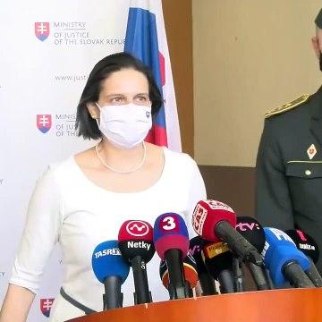 Ministerka spravodlivosti SR Mária Kolíková o vymenovaní nového generálneho riaditeľa ZVJS