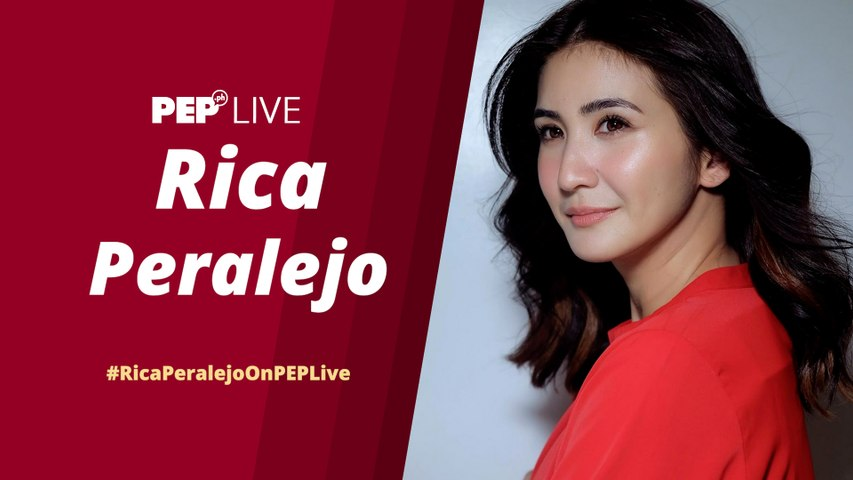 WATCH: Rica Peralejo on PEP Live!