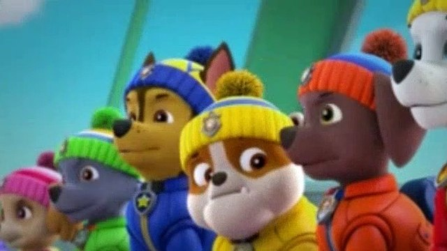 Paw Patrol Season 4 Episode 35 Sea Patrol Pups Save A Frozen Flounder