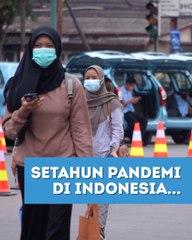Setahun Covid-19 di Indonesia, Sudahkah Kita Melewati Gelombang Pertama Pandemi?