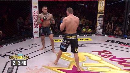 Gabor Boraros vs Mariusz Radziszewski - Full Fight Oktagon MMA