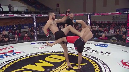 Marinica Bejenaru vs Amin Kopael - Full Fight RXF MMA