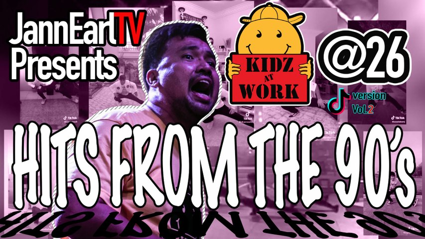 Kidz@Work Dance Hits from the 90's Vol.2 | 26th Anniversary Collab