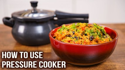 How To Use Pressure Cooker | Rajma Khichdi In Cooker | Basic Kitchen Tips | Khichdi Recipe | Varun