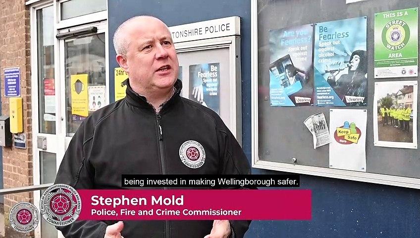 New CCTV for Wellingborough