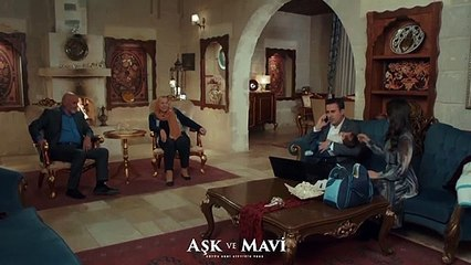 Aşk ve Mavi 43.Bölüm - Ali, Demirhan'ın altını değiştiriyor!