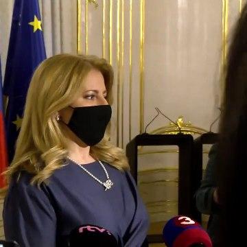 Vyhlásenie prezidetky Z. Čaputovej