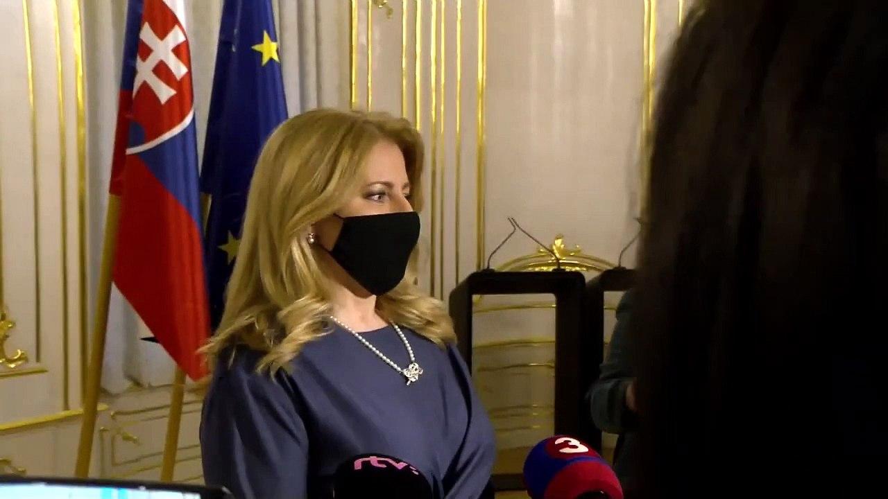 ZÁZNAM: Vyhlásenie prezidentky Z. Čaputovej
