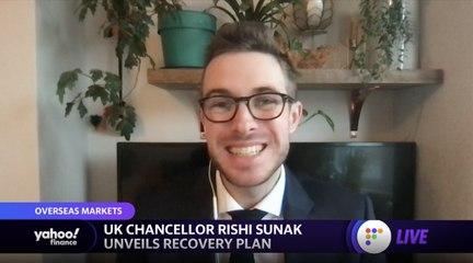 UK chancellor Rishi Sunak unveils recovery plan