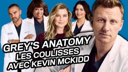 Grey's Anatomy : les secrets de tournage par Kevin McKidd