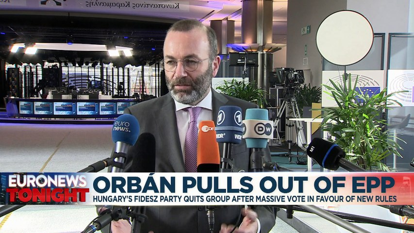 Hungary's rule of law stance left Fidesz isolated in EPP, says Manfred Weber