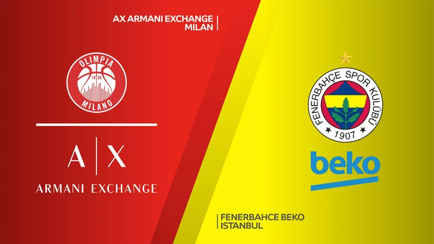 AX Armani Exchange Milan - Fenerbahce Beko Istanbul Highlights   Turkish Airlines EuroLeague, RS Round 27
