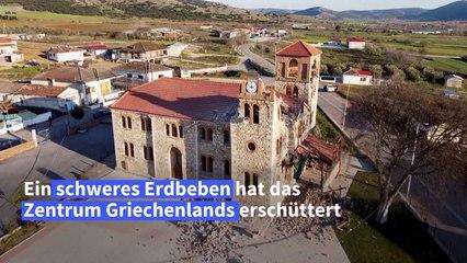 Elf Verletzte nach schwerem Erdbeben in Griechenland