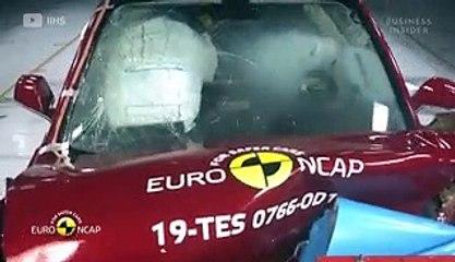 How a car scores zero stars in crash testing