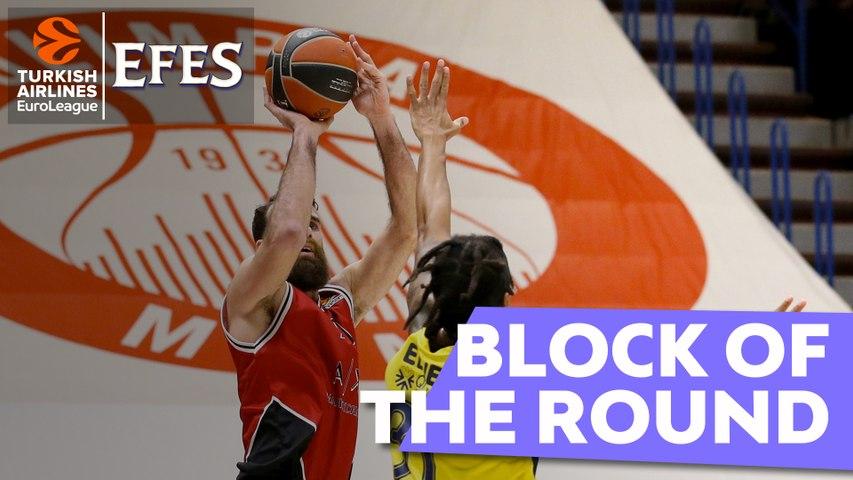 Efes Block of the Round: Gigi Datome, AX Armani Exchange Milan