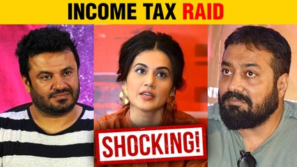 BREAKING | Income Tax Raid At Taapsee Pannu, Anurag Kashyap, Vikas Bahl's House | Reports
