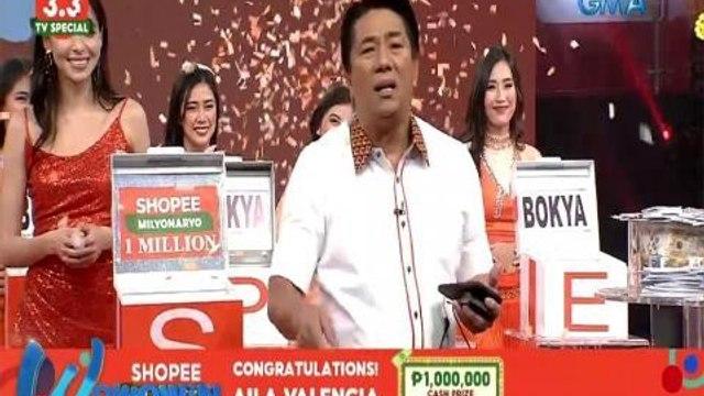 Wowowin: Sabihin mo, 'Salamat sa PhP 1 million, Shopee!'