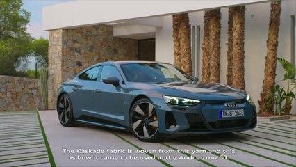 Audi e-tron GT Recycling Seats Kaskade