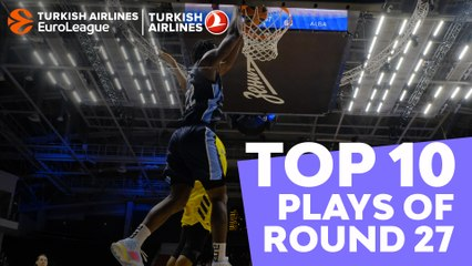 Regular Season, Round 27: Top 10 Plays