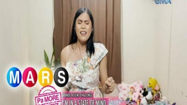 Mars Pa More: Gen Doll Crissy, game na game sa 'Ariana Grande Accent' challenge!