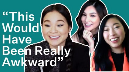 Awkwafina, Kelly Marie Tran & Gemma Chan Test Their Friendship