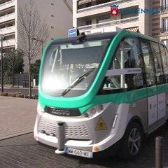 La navette autonome étend son parcours jusqu'à la mairie de Vincennes