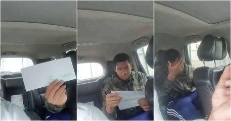 Rapaz fica revoltado ao descobrir os descontos do 1º salário