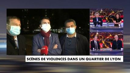 Scènes de violences dans un quartier de Lyon