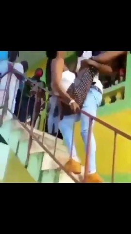 Slay Queen Almost Falls To Her Death Tw3rking On Her Boyfriend