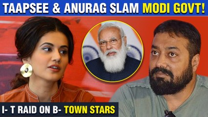 Taapsee Pannu, Anurag Kashyap's Statement Against Modi Government | Rahul Gandhi REACTS