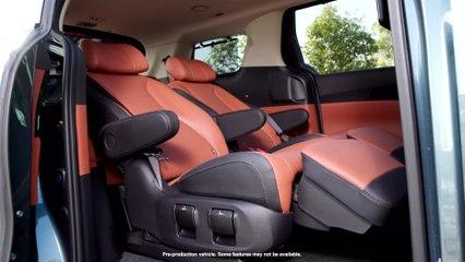 2022 Kia Carnival 7-passenger VIP Lounge Seat configuration