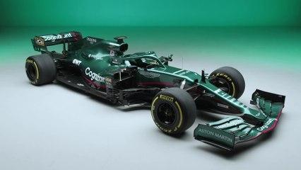 Aston Martin Cognizant Formula One™ Team AMR21 Car