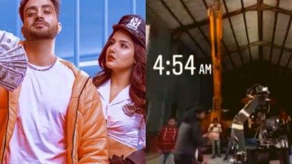 Jasmin Bhasin और Aly Goni ने इतनी देर तक शूट किया Tony Kakkar के साथ Tera Suit song | FilmiBeat