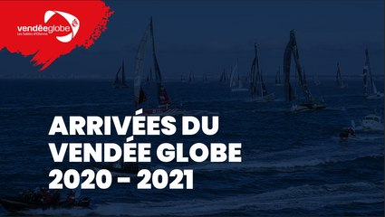 Live Arrivée + Remontée du chenal + Conférence de presse Ari Huusela Vendée Globe 2020-2021 [FR]