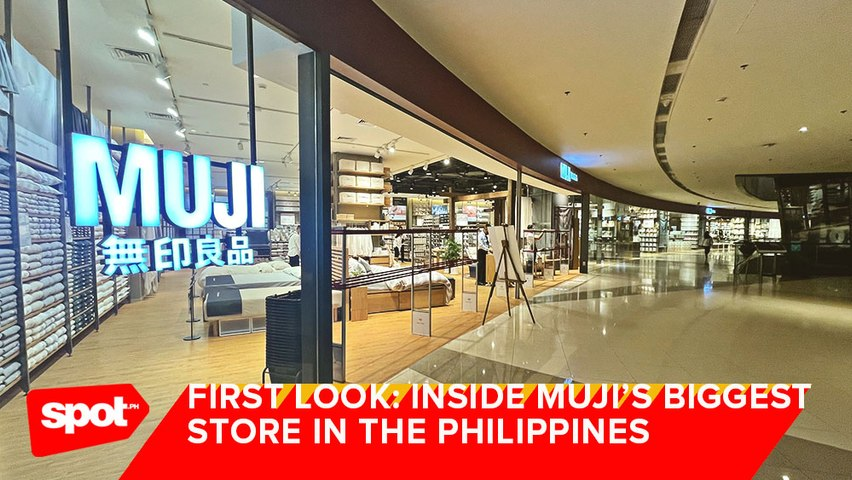 Here's Your First Look Inside MUJI's Biggest Store in the Philippines