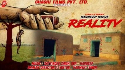 Reality   Sandeep Saini   Shashi Films   Rap Song
