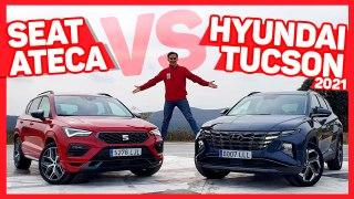VÍDEO: Hyundai Tucson VS Seat Ateca