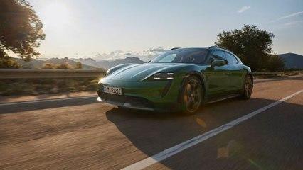 Elektrischer Allrounder: Der neue Porsche Taycan Cross Turismo