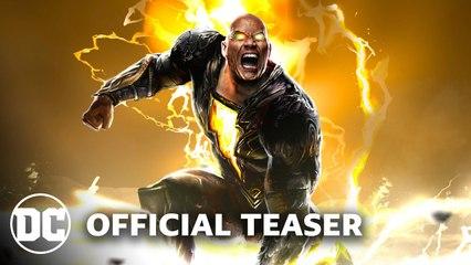 BLACK ADAM Trailer Teaser (2021)
