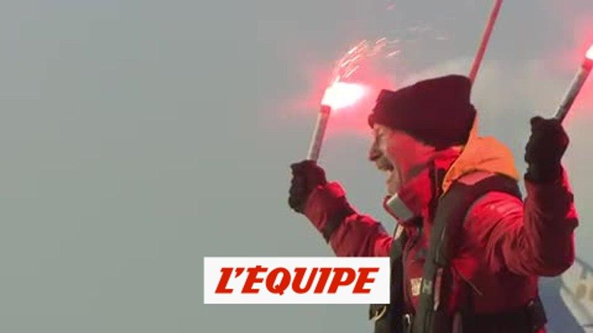 Huusela, dernier du Vendée Globe, est arrivé - Voile - Vendée Globe