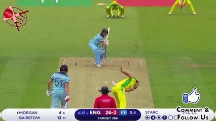 ENG v AUS - Starc की इस गेंद पर कैसे चकमा खा गया ये इंग्लिश बल्लेबाज़