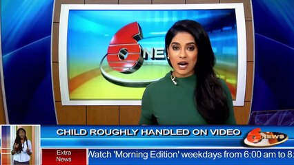 Caught on Tape: child roughly handled on video