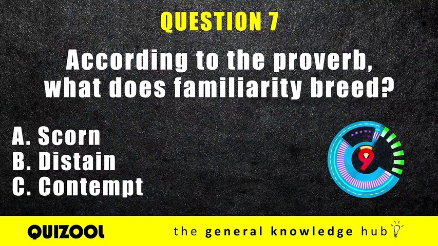 30 Difficult Trivia Questions _ General Knowledge Quiz