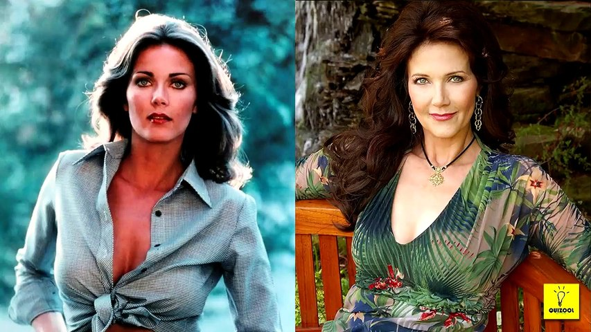 Beautiful Actresses Of The 1970s Then and Now