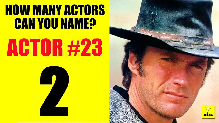 How Many Actors Can You Name Quiz