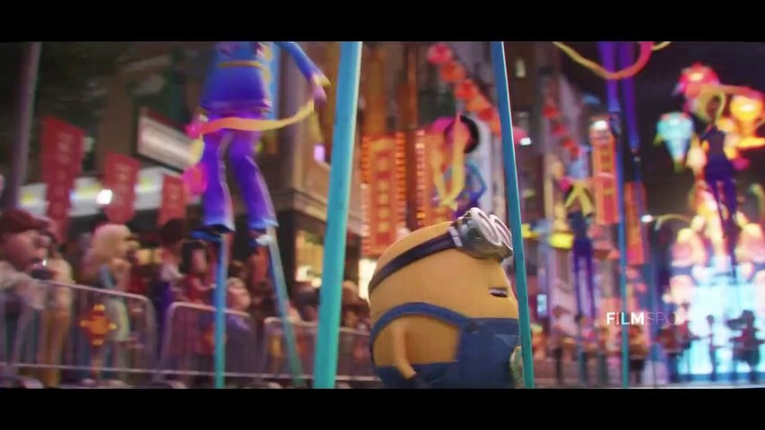 MINIONS 2 THE RISE OF GRU -Minions Rides Dragon- Trailer