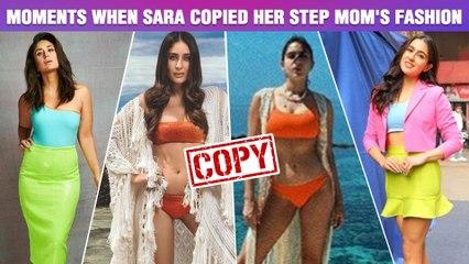 Sara Ali Khan COPIES Kareena Kapoor's B0ld Look | Photos Viral